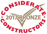 Considerate Constructors 2017 Bronze